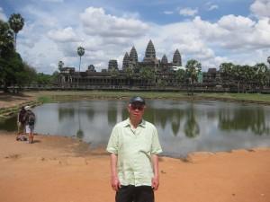 Michael at Angkor Wat