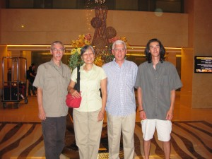 Jimmy, Irene, Michael and Jeff.