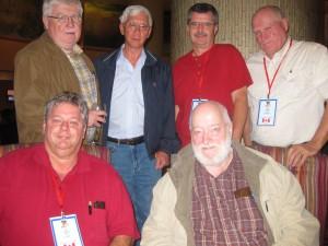 L to R. Maurice, Michael, Neil, Doug. Seated. Bob and Karl.