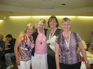 Maureen, Diana, Kathie and Anne.