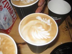 Best latte in Poznan