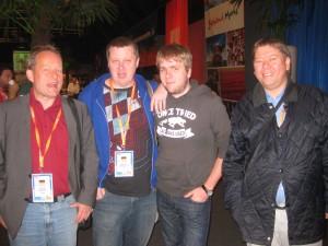 Joeg Fritsche, Michael Gromoeller, Martin Rehder & Roland Rohowski