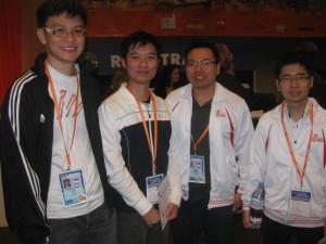 Giant killers- Loo Choon Chou, Kelvin Ng, Poon Hua & Lam Cheng Yen-Singapore